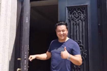 贝尔卡洛铝艺门中门